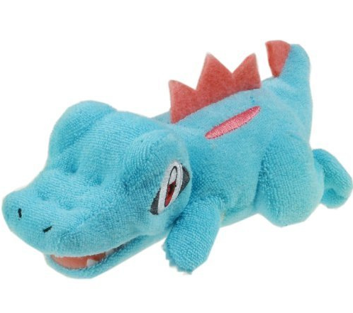 Totodile Laying Beanie 2009