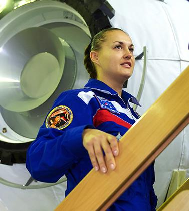 космос женщина