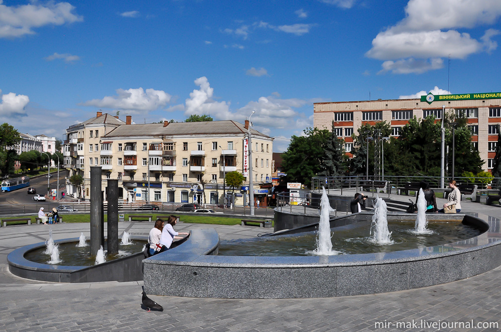 Как работают фонтаны на плотинке в екатеринбурге - 35e5