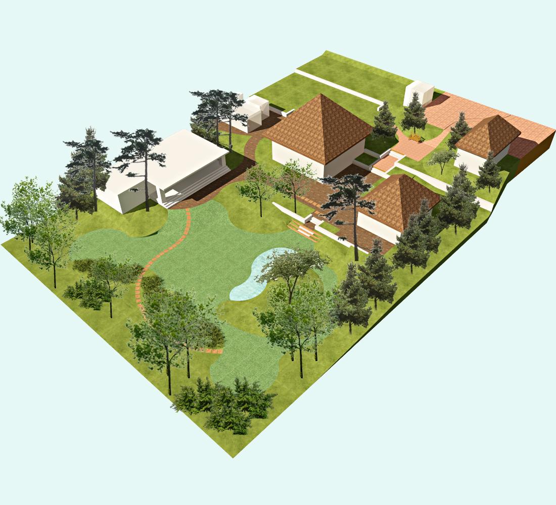 Ландшафтный дизайн садового участка своими руками 61