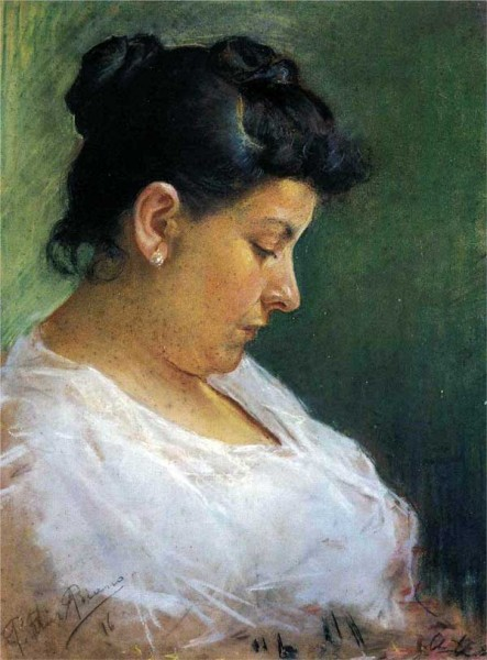 Pablo-Picasso_Portrait-of-the-Artists-Mother_1896