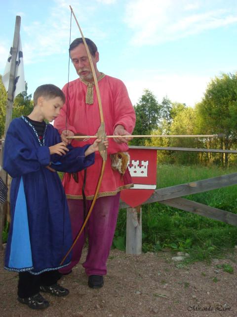 Деревня викингов - лучники