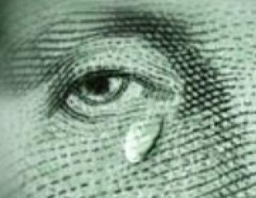 доллар плачет