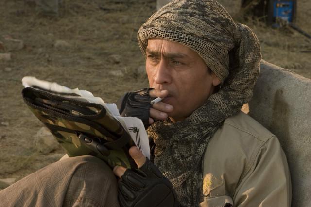 Исполнитель роли Главного Злодея, актер Рустам Уразаев