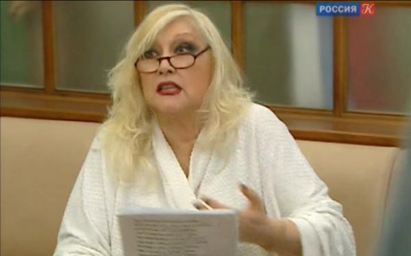 Ирина Мирошниченко за кулисами МХТ