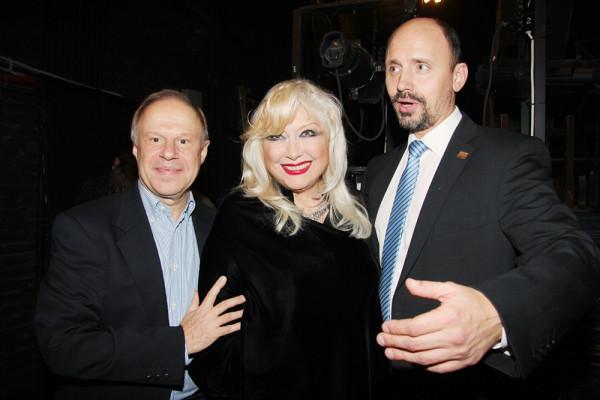 Ирина Мирошниченко на 70-летии Школы-студии МХАТ