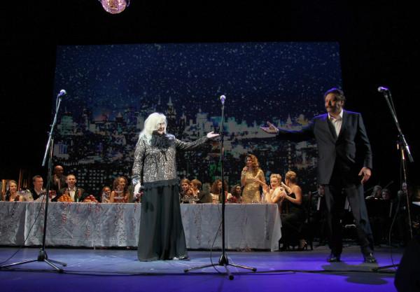 Рождественский концерт в МХТ им. Чехова. 2014. Ирина Мирошниченко.