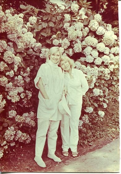 Ирина Мирошниченко с мамой