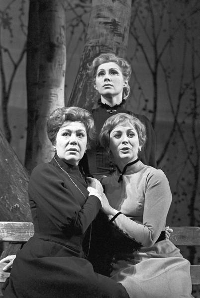 Три сестры. МХАТ.