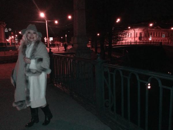 Ночная прогулка по Питеру
