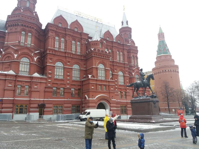 Маршал Жуков, Манежная площадь, Исторический музей