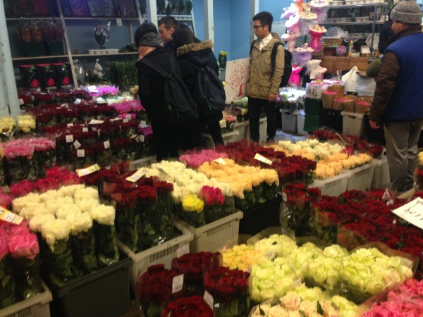 Цены на цветы на киевской