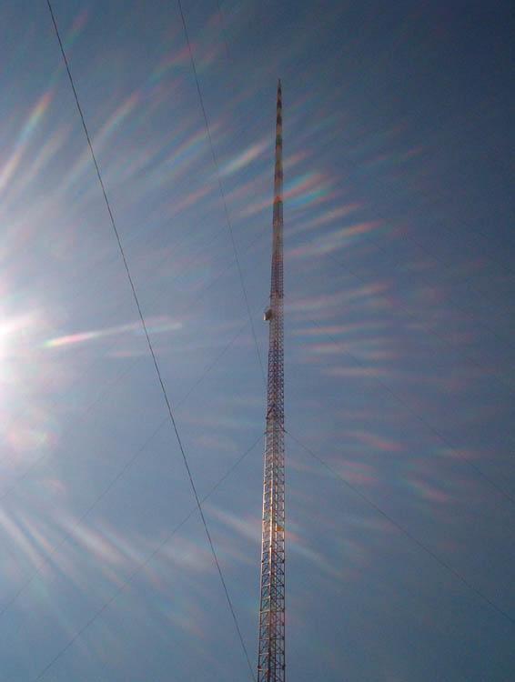 Опасная для жизни работа на высоте 628 метров