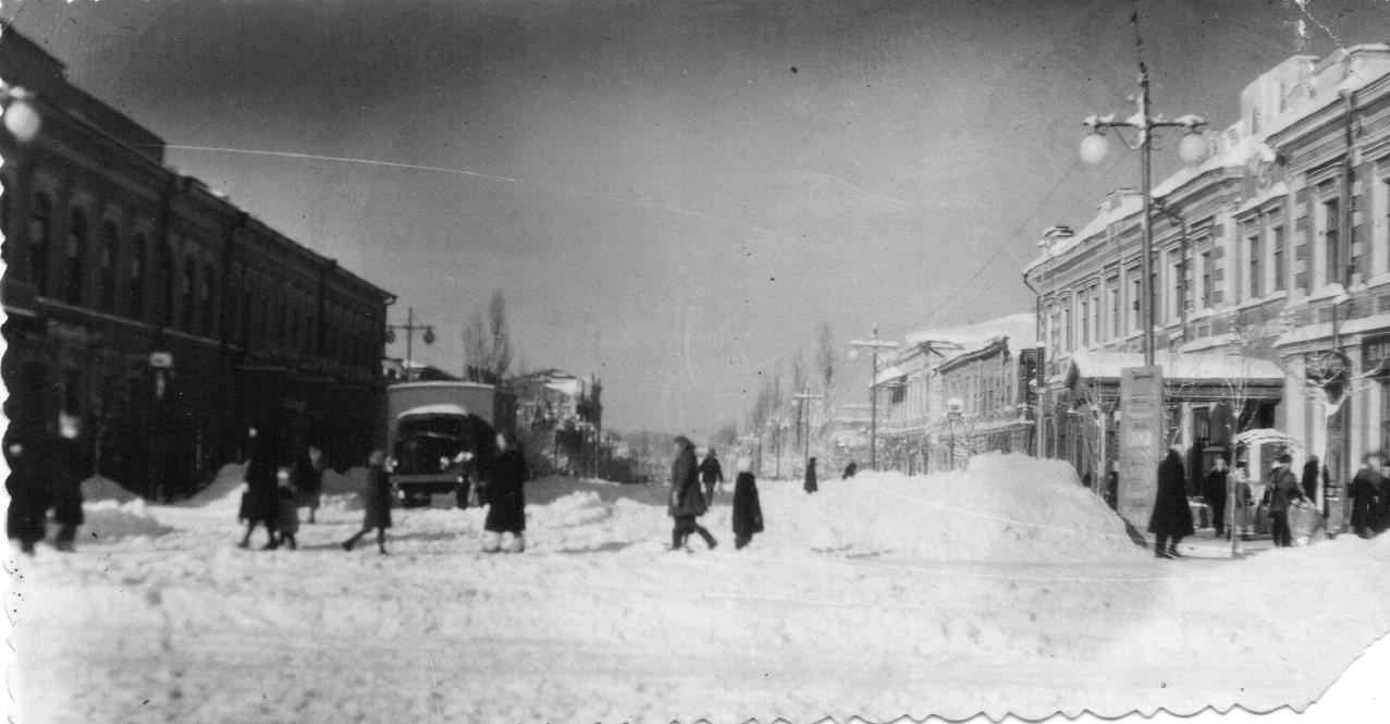 Новочеркасск зимой 1950 года