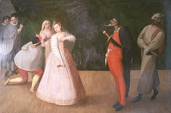 340px-Commedia_dell'arte_-_troupe_Gelosi