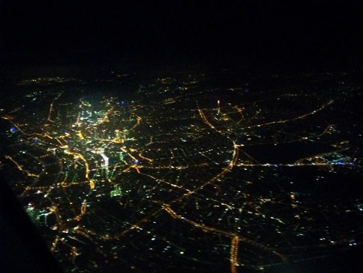 франкфурт с воздуха