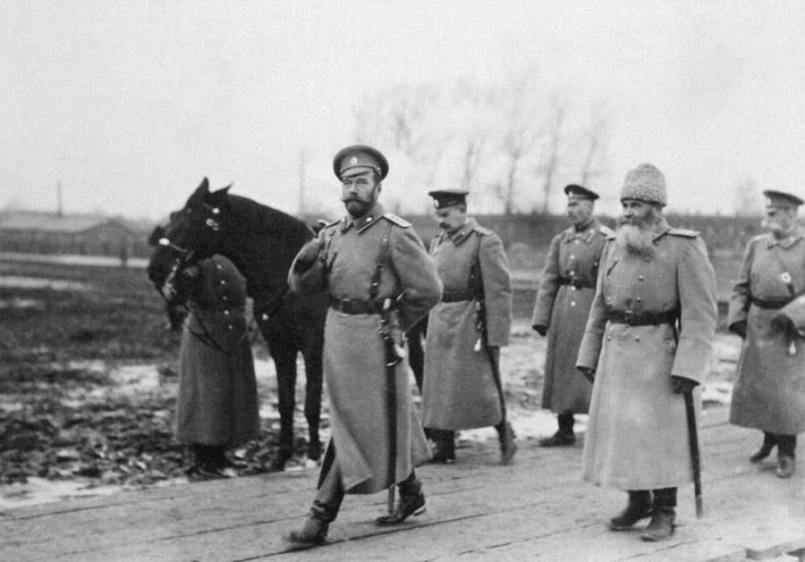 На фронте. 1915