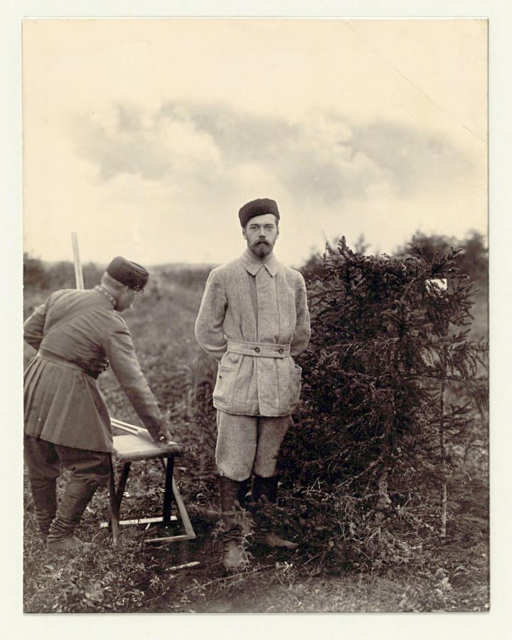 На охоте. 1890г.