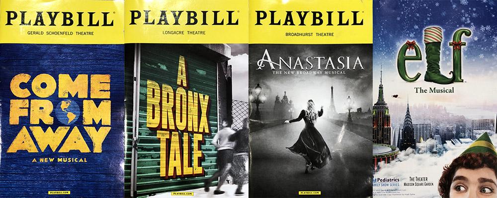 Мюзиклы в Нью-Йорке 2017