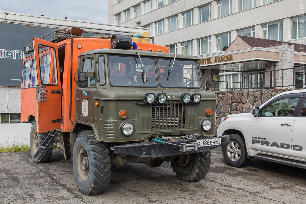 Journey to Kamchatka. Part 3. Mount Camel Kamchatka, the first, pretty, very, bus, only, transport, became, pool, all, tourists, city, meters, give, water, two hundred, can, point, time, Part