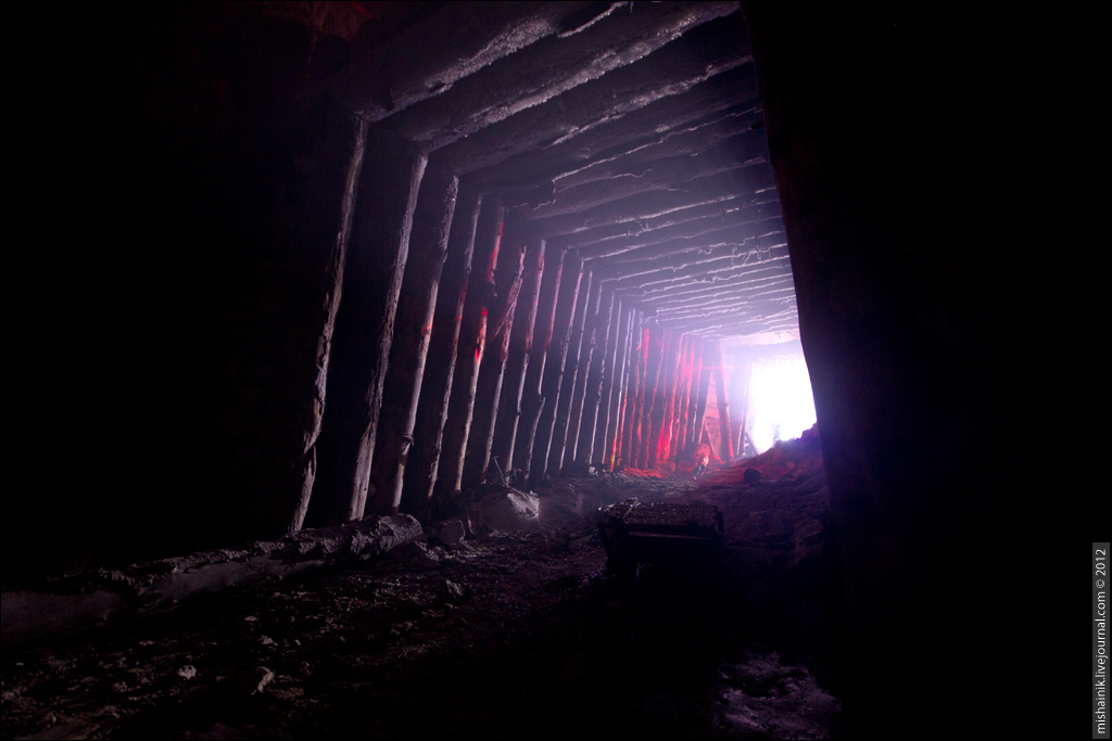 С Новым 2013 Годом! Празднование в шахте