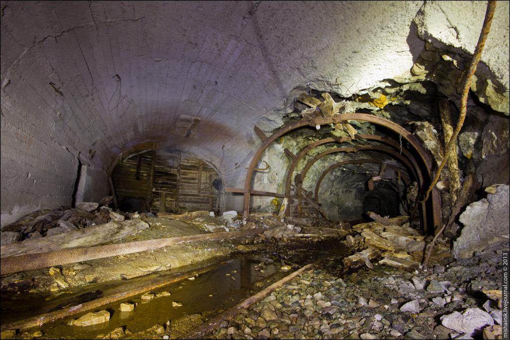 Темные плантации в шахте