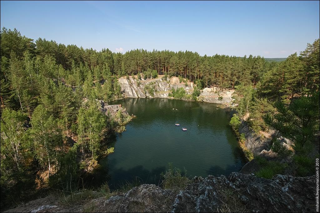 Тальков Камень - Черновский тальковый рудник