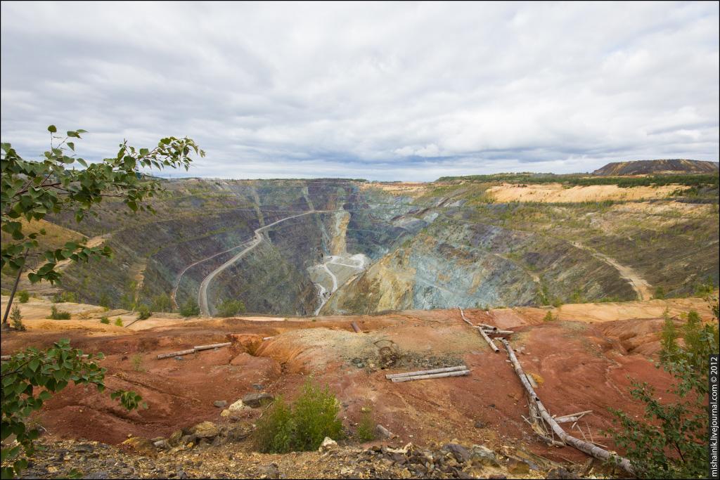 Учалинский рудник - карьер