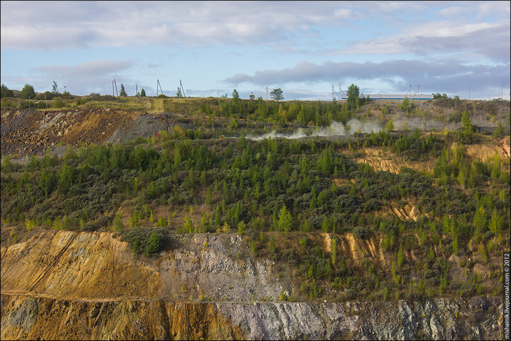 Межозерный рудник - Молодежный карьер