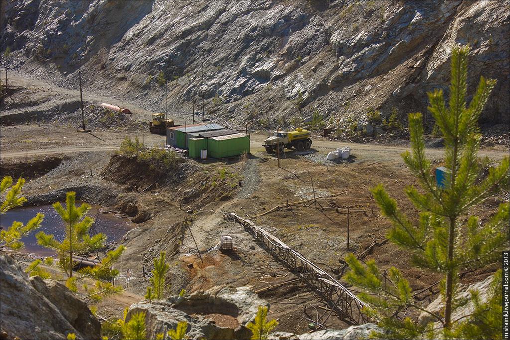 Рогожинское месторождение силикатно-никелевых руд