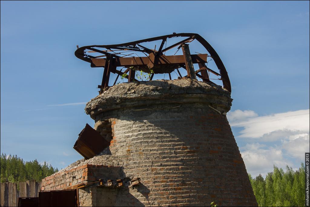 Известково-обжигательные печи Высокогорского рудника