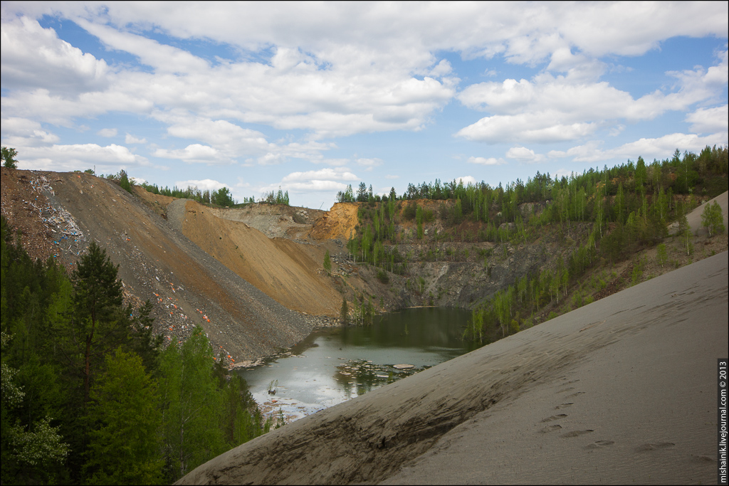 Лебяжинский рудник - шахта «Эксплуатационная»
