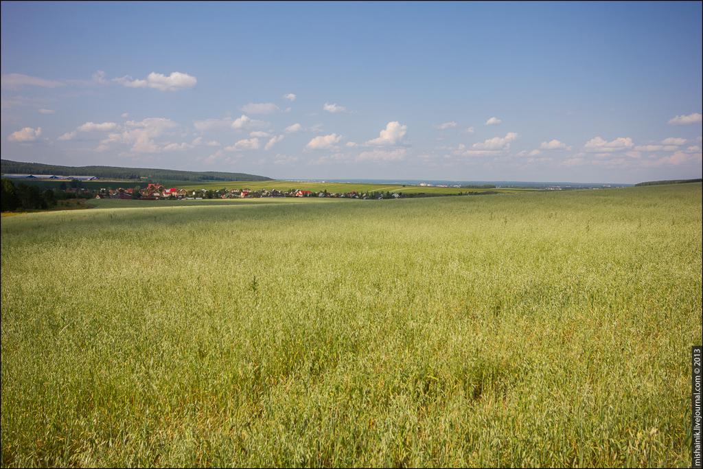 Мало-Седельниковское месторождение родонита («орлеца») Большая орлецовая копь