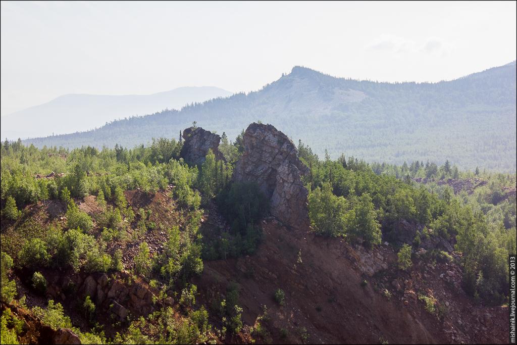 Бакальские рудники - Охряный карьер