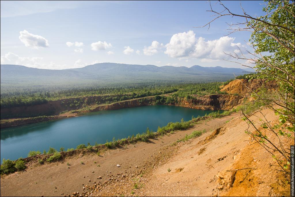 Рудник Иркускан: Охряные ямы