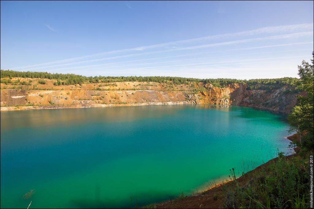 Рудник Иркускан Александровский карьер
