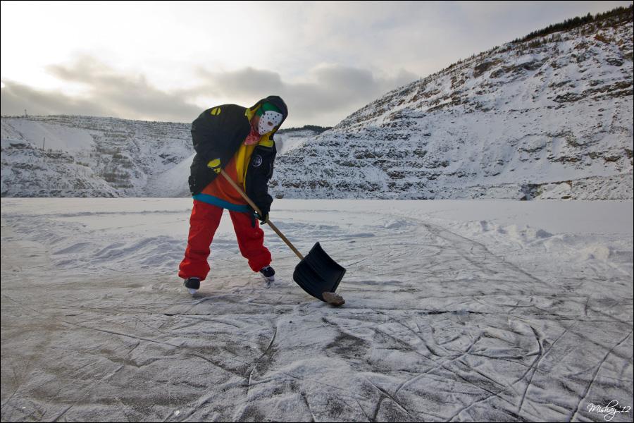 KATALOVO 5 - Big Ice на коньках в карьере
