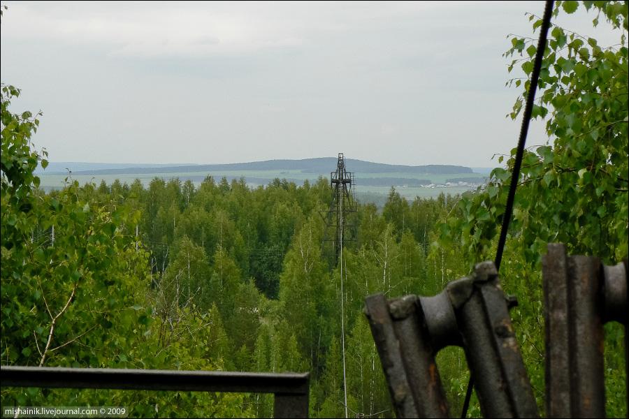 Шабровский тальковый рудник, карьер «Старая линза»