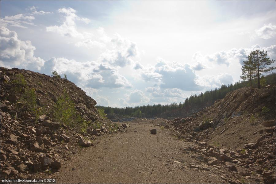 Соловьевогорский дунитовый карьер