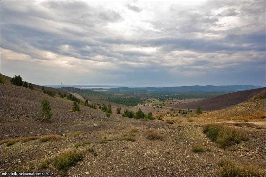 Соймановская долина. Гора Карабаш