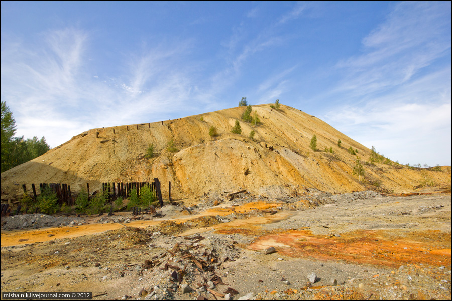 Дегтярский рудник (история, шахта, карьер, террикон)