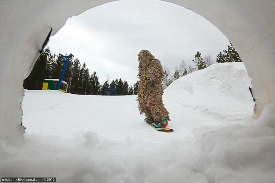 Yeti - уральский снежный человек