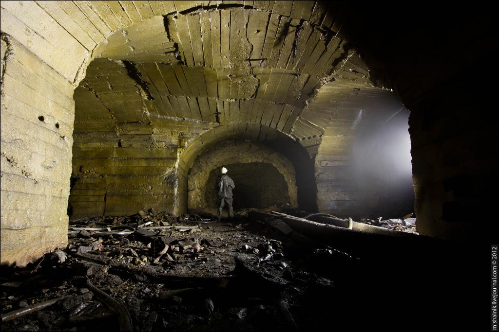 подземные шахтные выработки фото сейчас фото самое