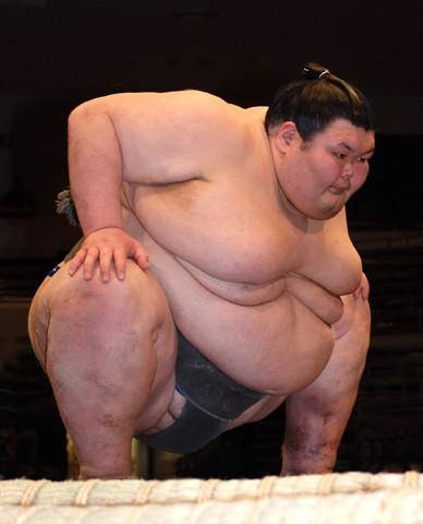 Японский секс сумоистов
