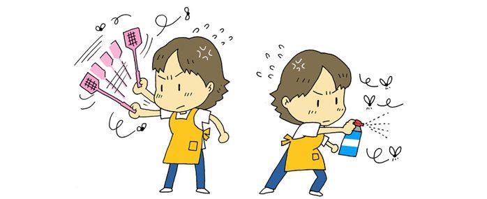 Борьба с комарами в Японии