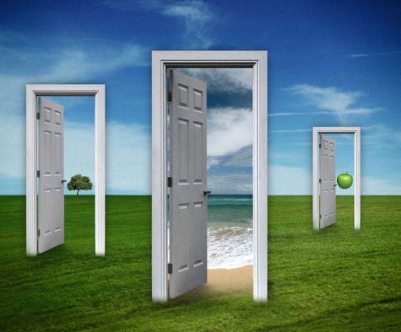 The Doors of Magritte by Carlos Gotay