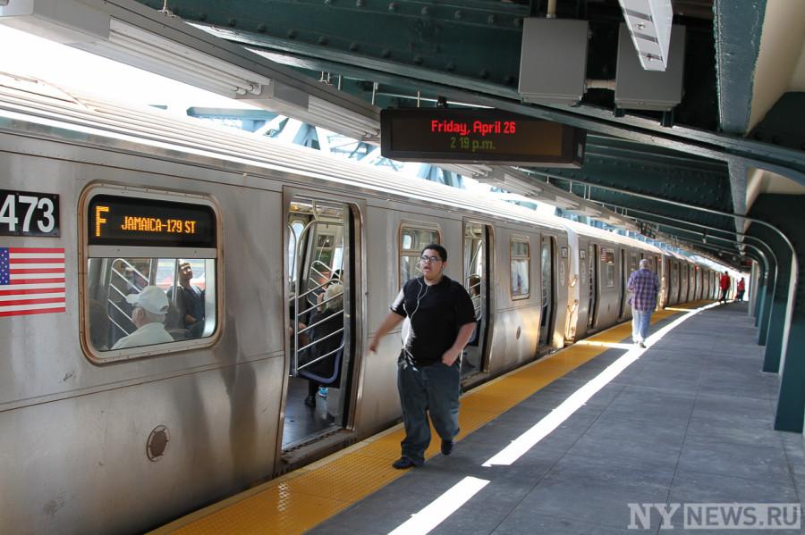 Платформа Smith 9 Street, Бруклин