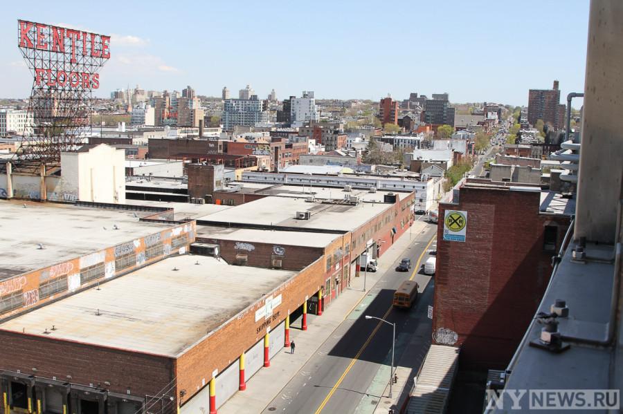 Вид на центр Бруклина со стороны Smith 9 Street