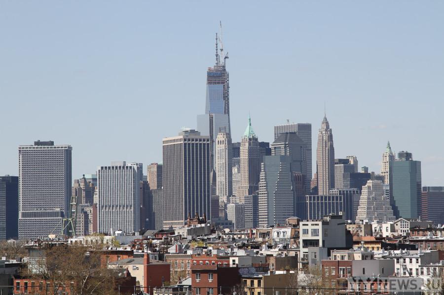Вид на Манхэттен со стороны Smith 9 Street