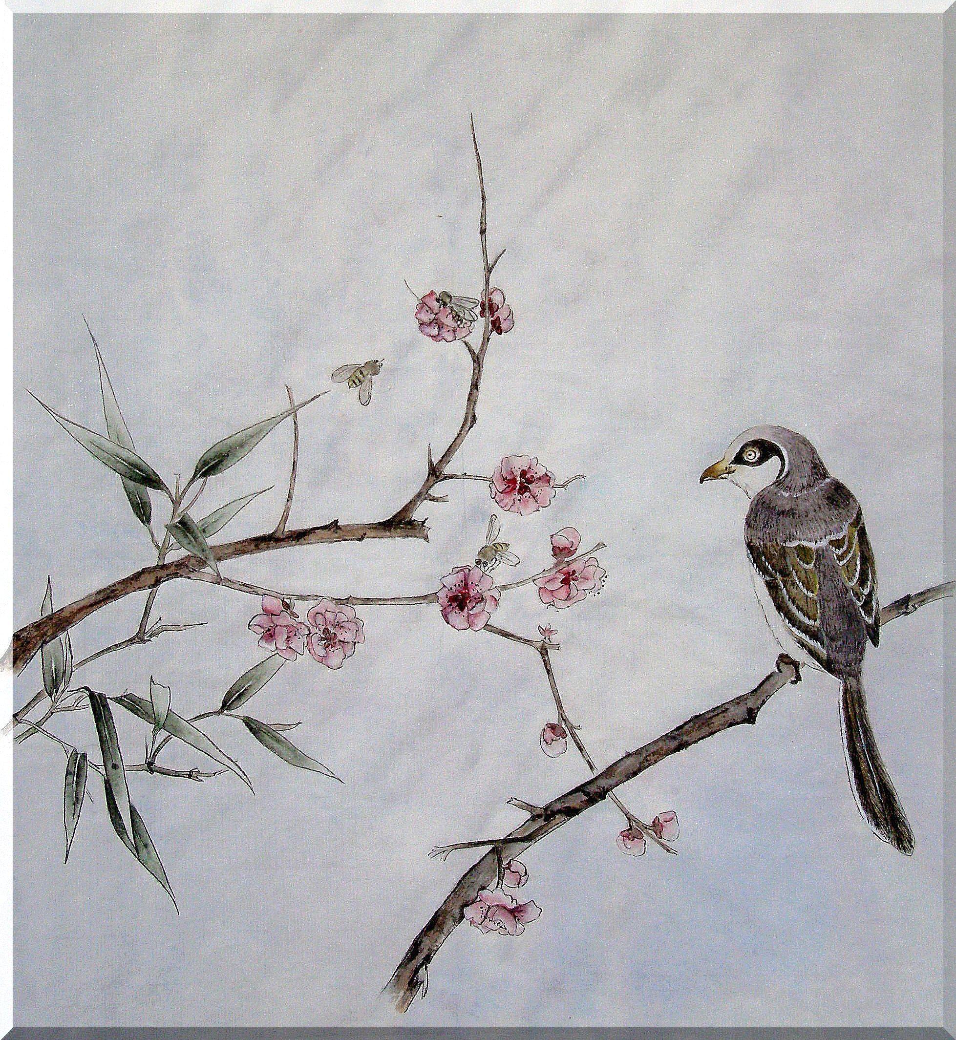 птица и слива - гун би
